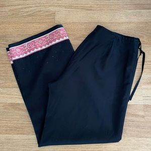 Ann Taylor Silk & Lined Lounging Pants